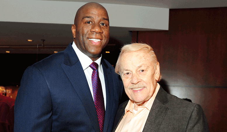 Magic Johnson Remembers a Friend & Mentor