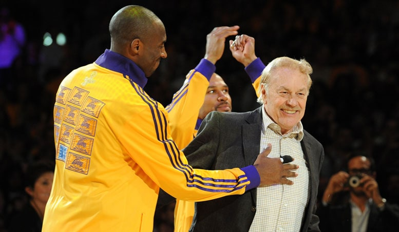 Players Reflect On Dr. Buss