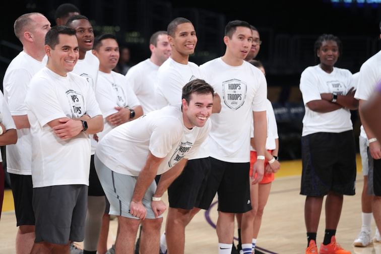 Hoops for Troops 2019