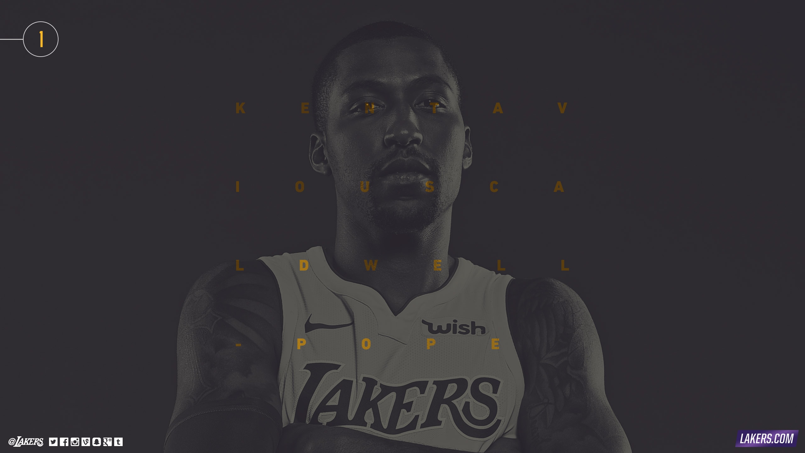 Kentavious Caldwell-Pope Player Wallpaper