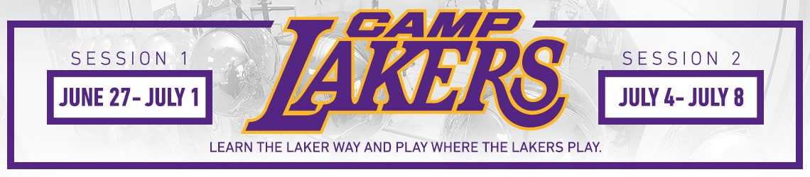 Camp Lakers 2016 - Learn the Laker way and play where the Lakers play