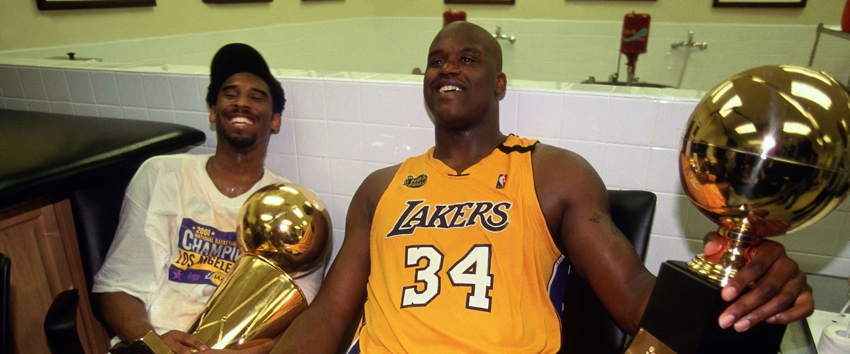 4214f5eb7 Kobe and Shaquille