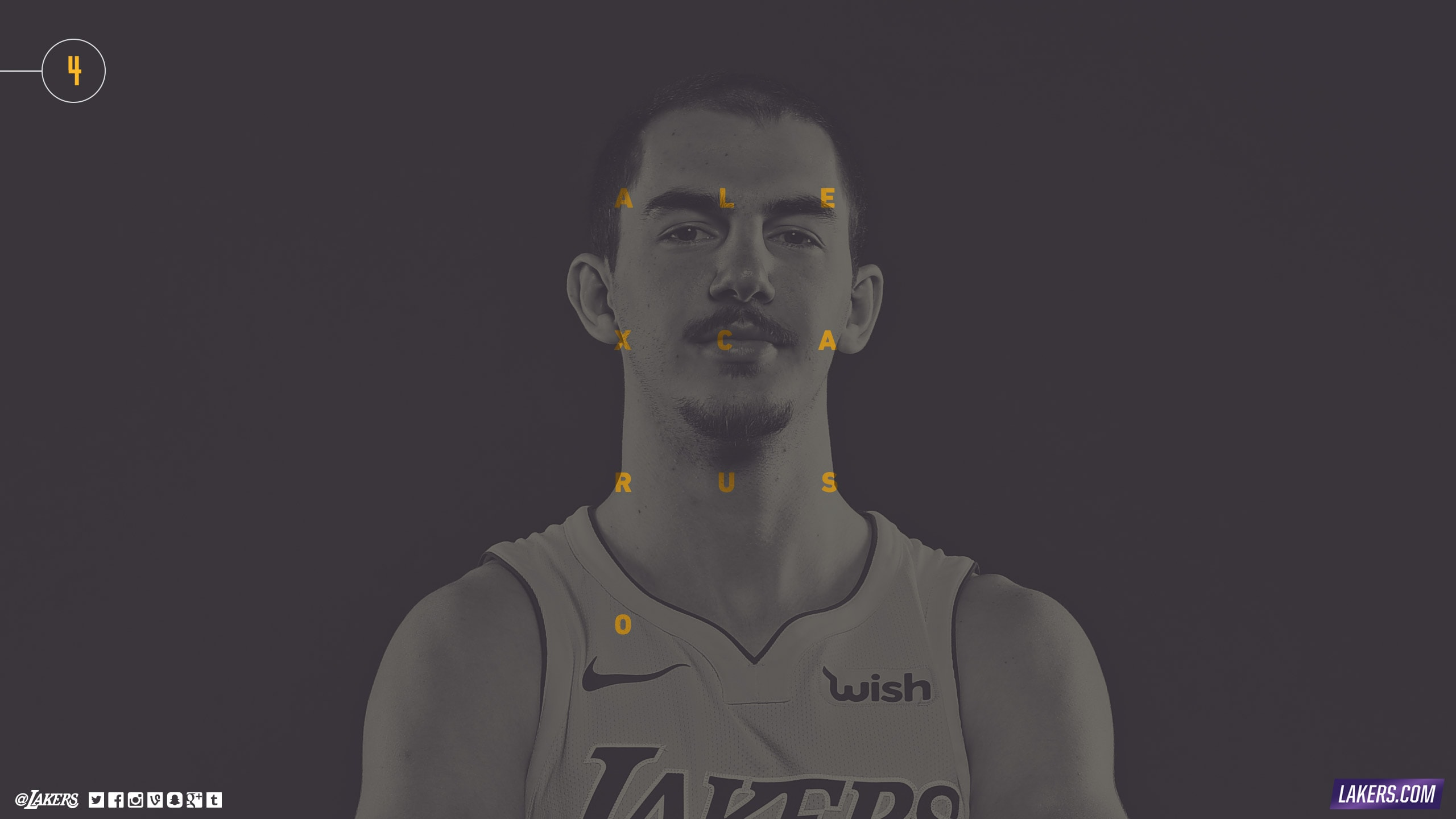 Alex Caruso Player Wallpaper