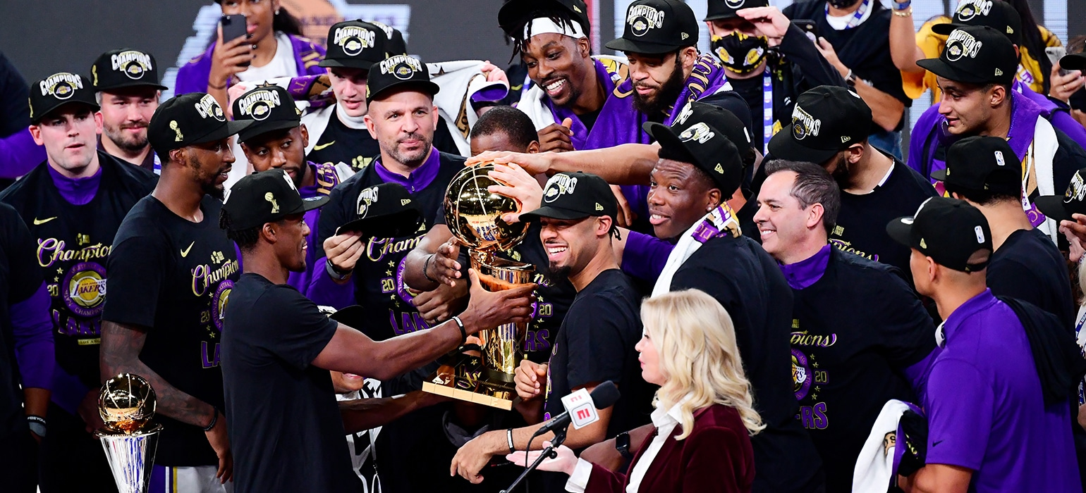Los Angeles Lakers are the 2020 NBA Champions | Los ...
