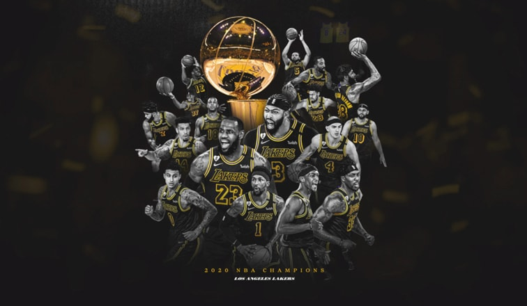 Los Angeles Lakers Are The 2020 Nba Champions Los Angeles Lakers