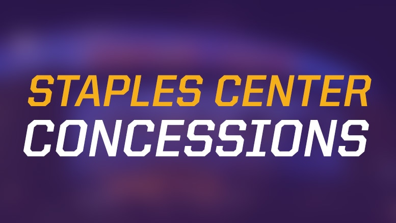 STAPLES Center Concessions