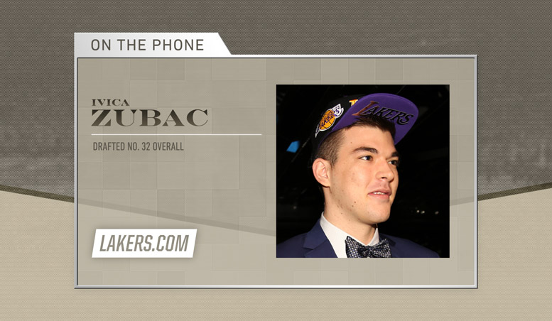 Ivica Zubac Phone Interview