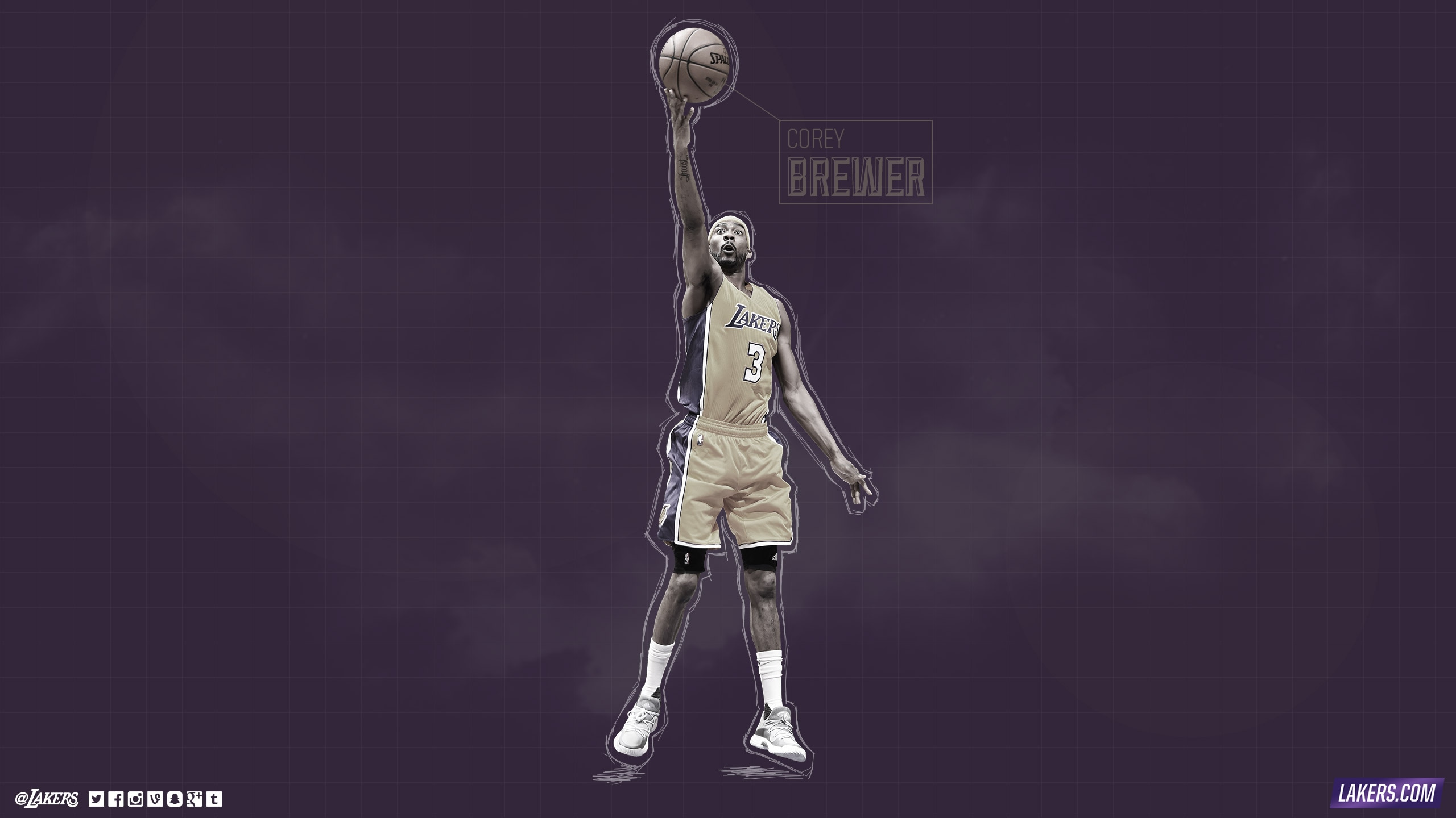 Corey Brewer Player Wallpaper