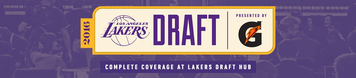 2016 Lakers Draft Hub