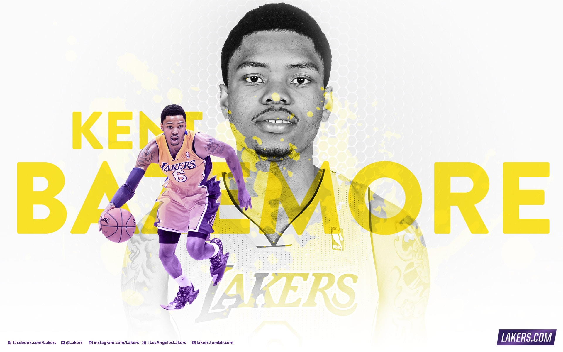 Player Wallpaper - Kent Bazemore