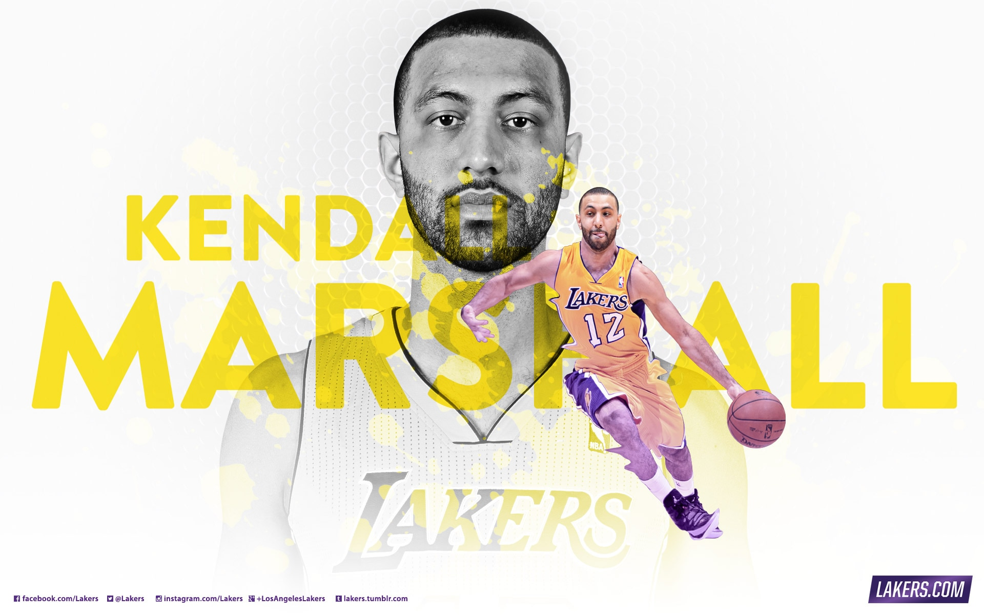 Player Wallpaper - Kendall Marshall
