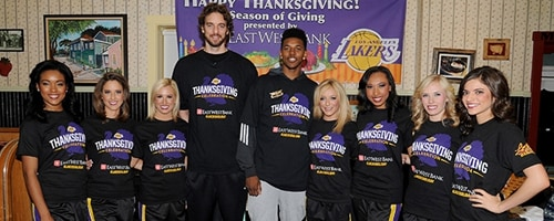 Lakers Thanksgiving