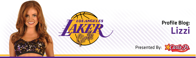 Laker Girls / Carl Jr.'s Blog - Lizzi