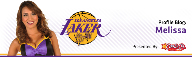Laker Girls / Carl Jr.'s Blog - Melissa