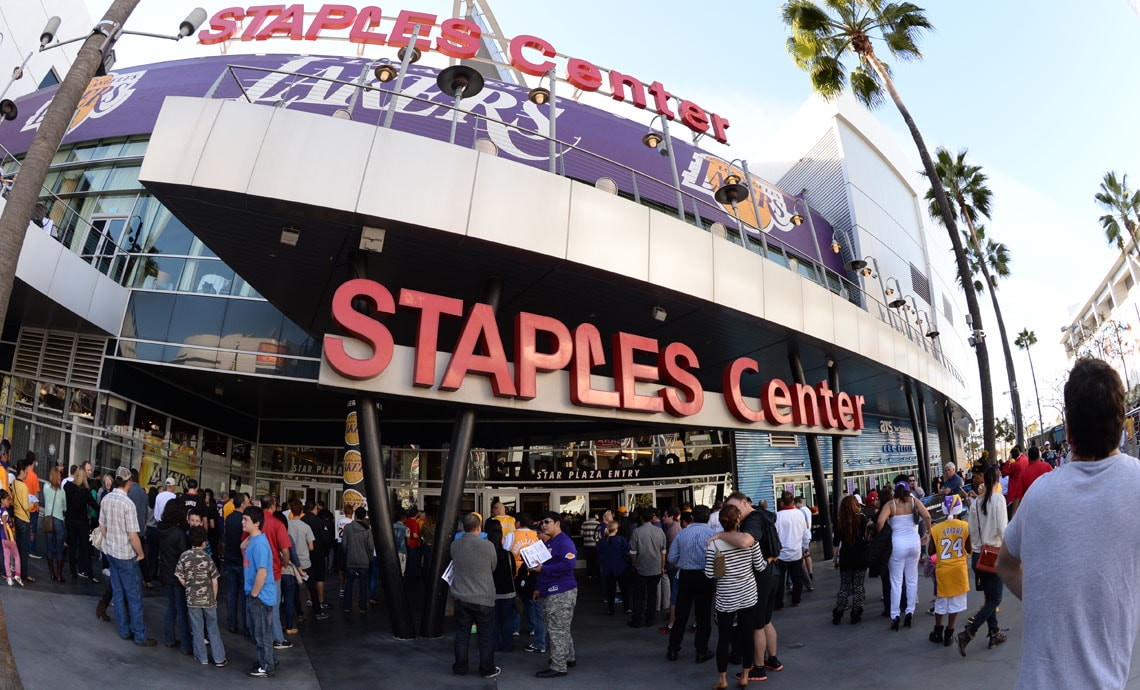 What Time Does Staples Open Today >> Staples Center Los Angeles Lakers