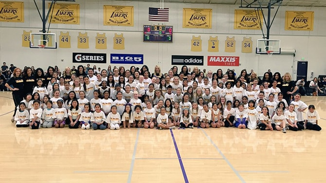 Laker Girls Dance Clinic