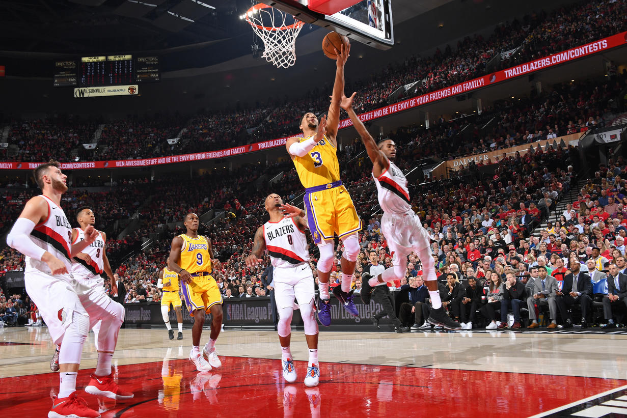 fc037e42640f Photos  Lakers at Trail Blazers (10 18 18)