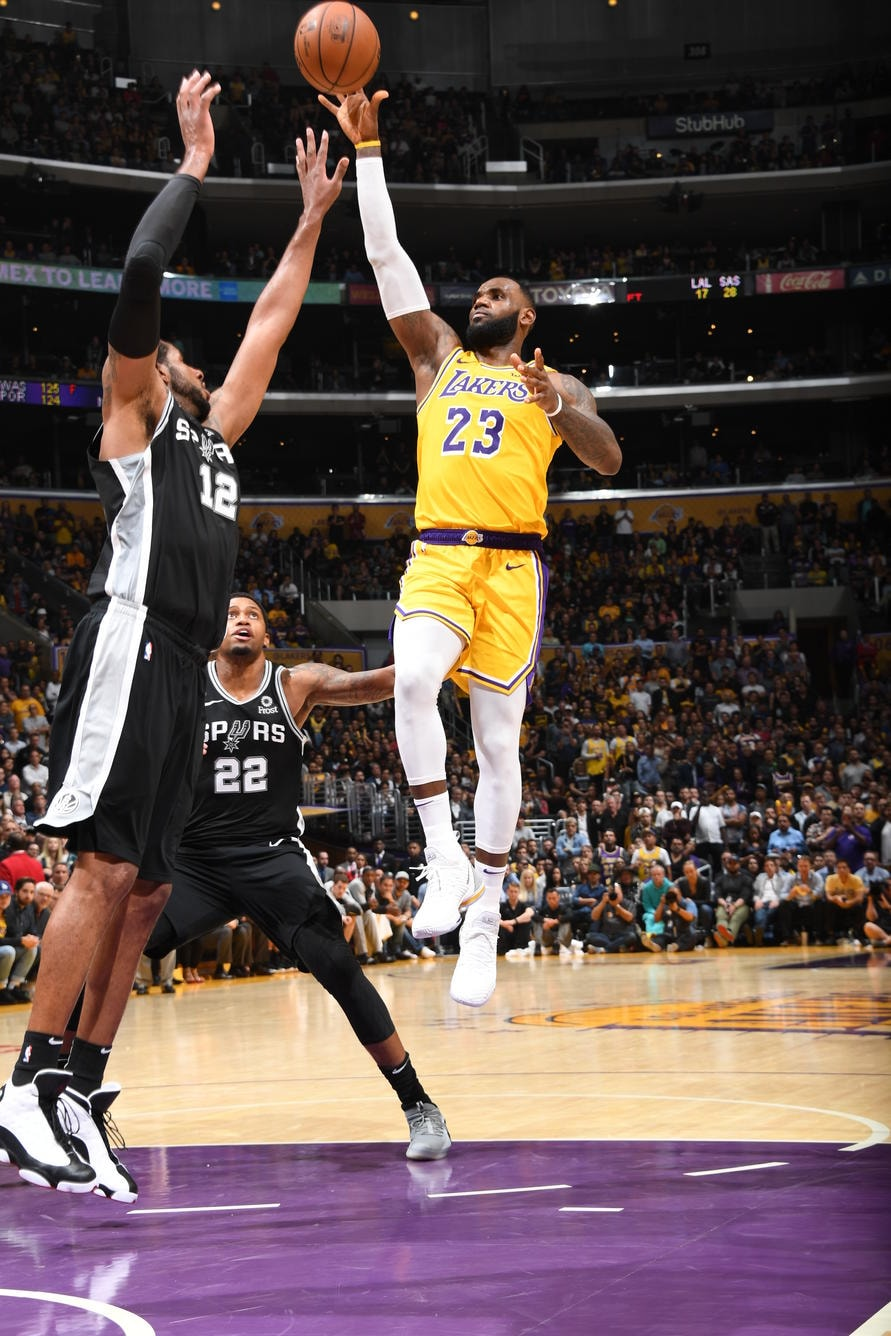66346f4cf Photos  Lakers vs Spurs (10 22 18)