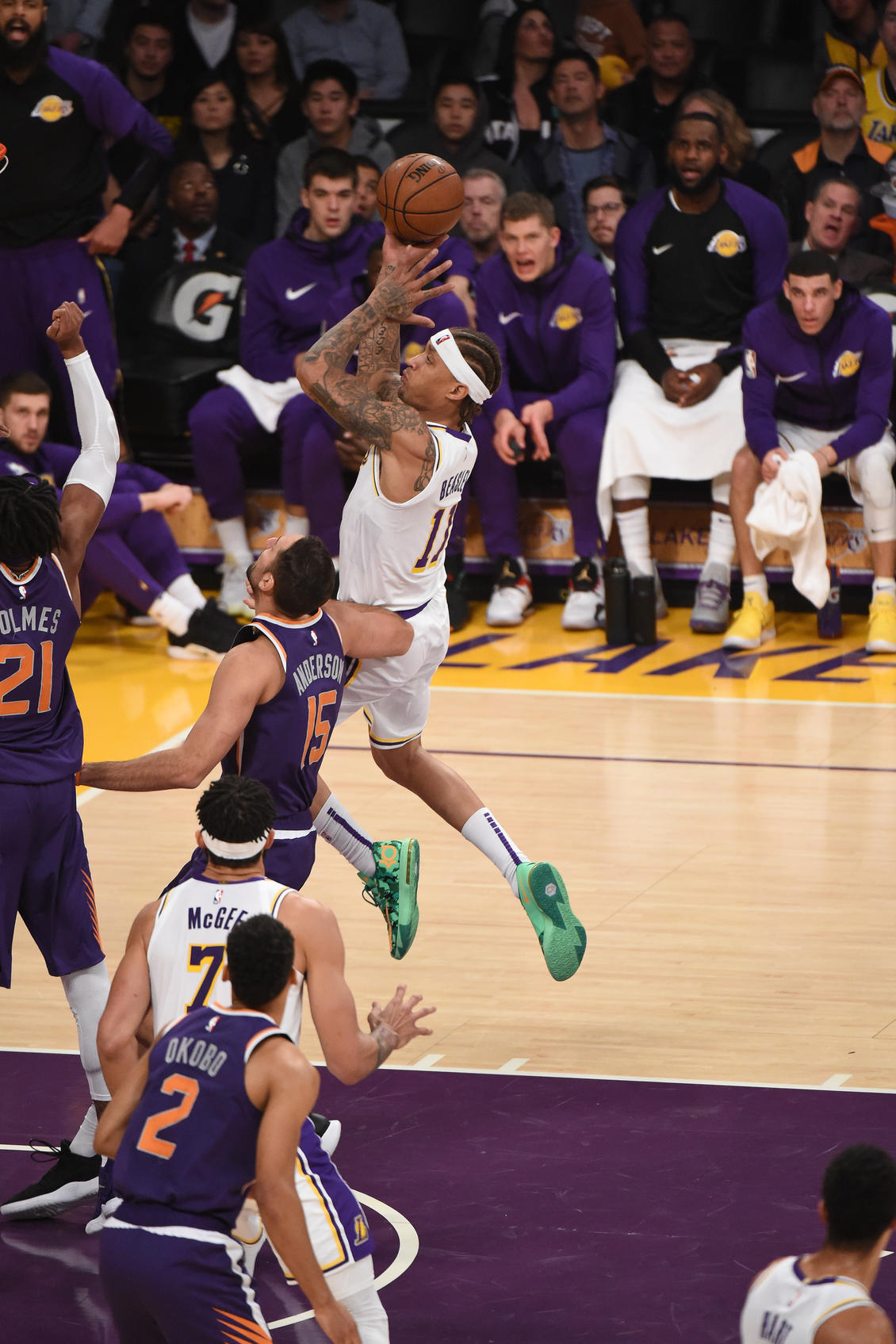 Lakers game december 2 slot machine possible outcomes