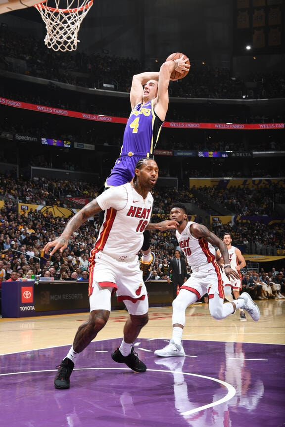 Photos Lakers Vs Heat 11 08 19 Los Angeles Lakers