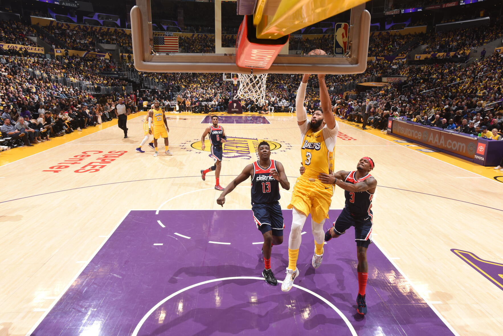 Photos Lakers Vs Wizards 11 29 19 Los Angeles Lakers