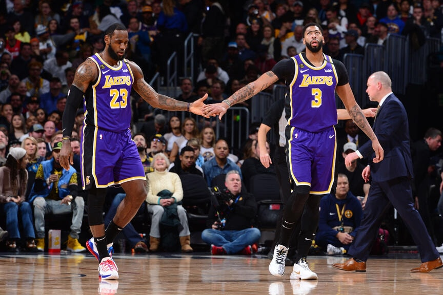 Photos: Lakers vs Nuggets (02/12/2020)   Los Angeles Lakers
