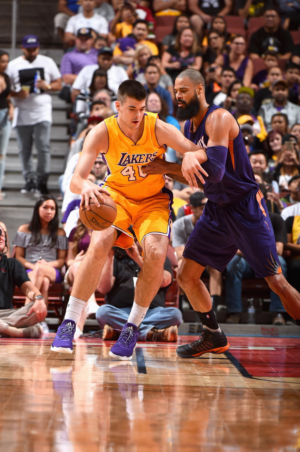 2017 Player Capsule Ivica Zubac Los Angeles LakersLakers