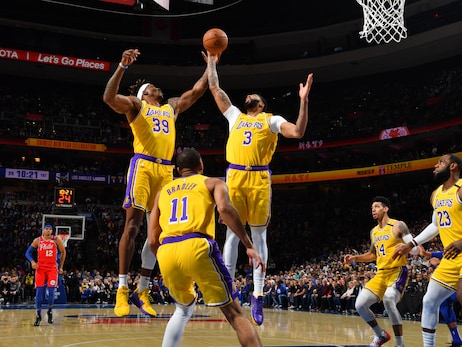 Photos: Lakers vs 76ers (01/25/2020)