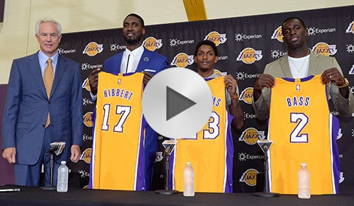 Introductory Press Conference: Hibbert, Williams, Bass