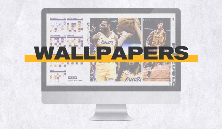 graphic about Lakers Printable Schedule named Los Angeles Lakers