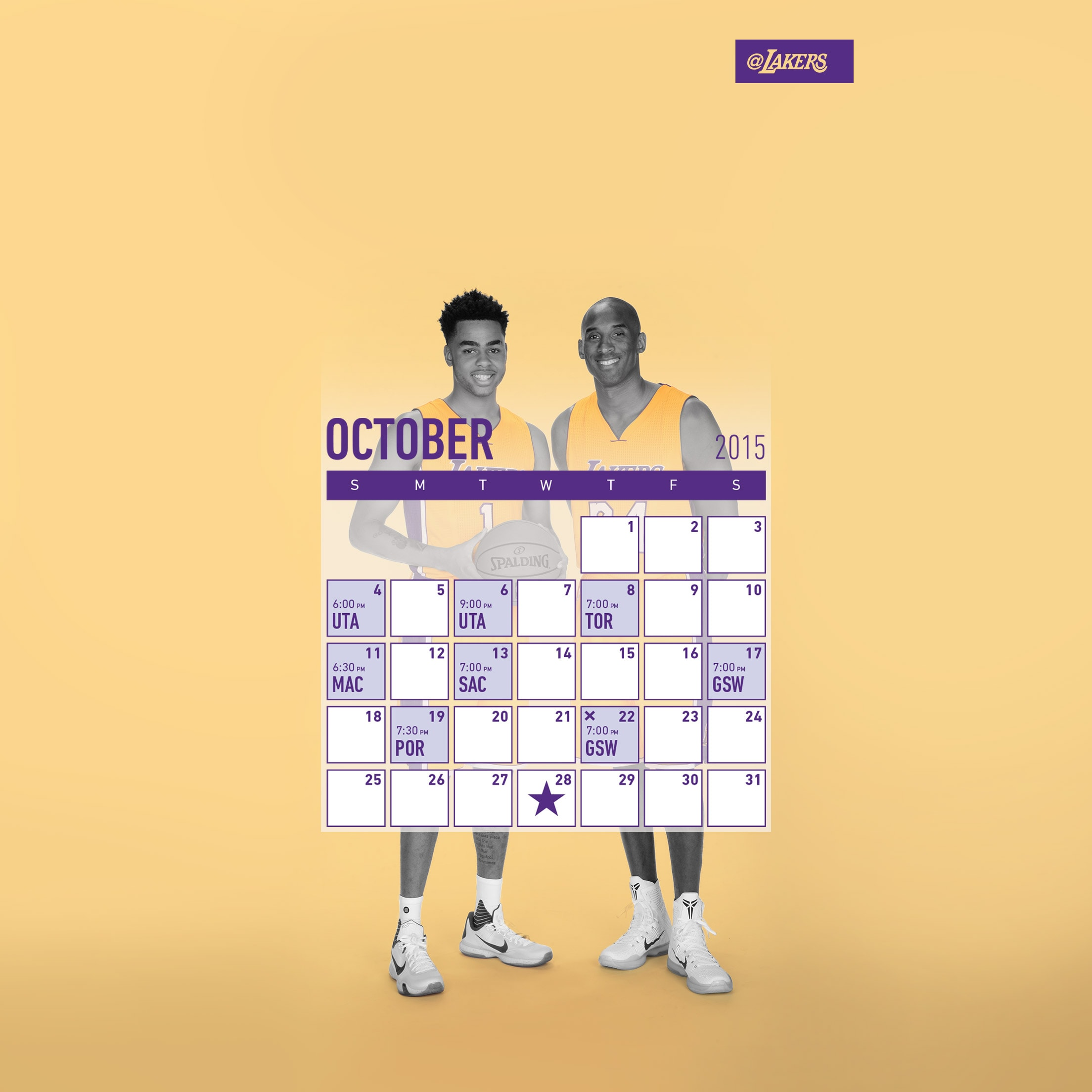 Kobe and D'Angelo Wallpapers