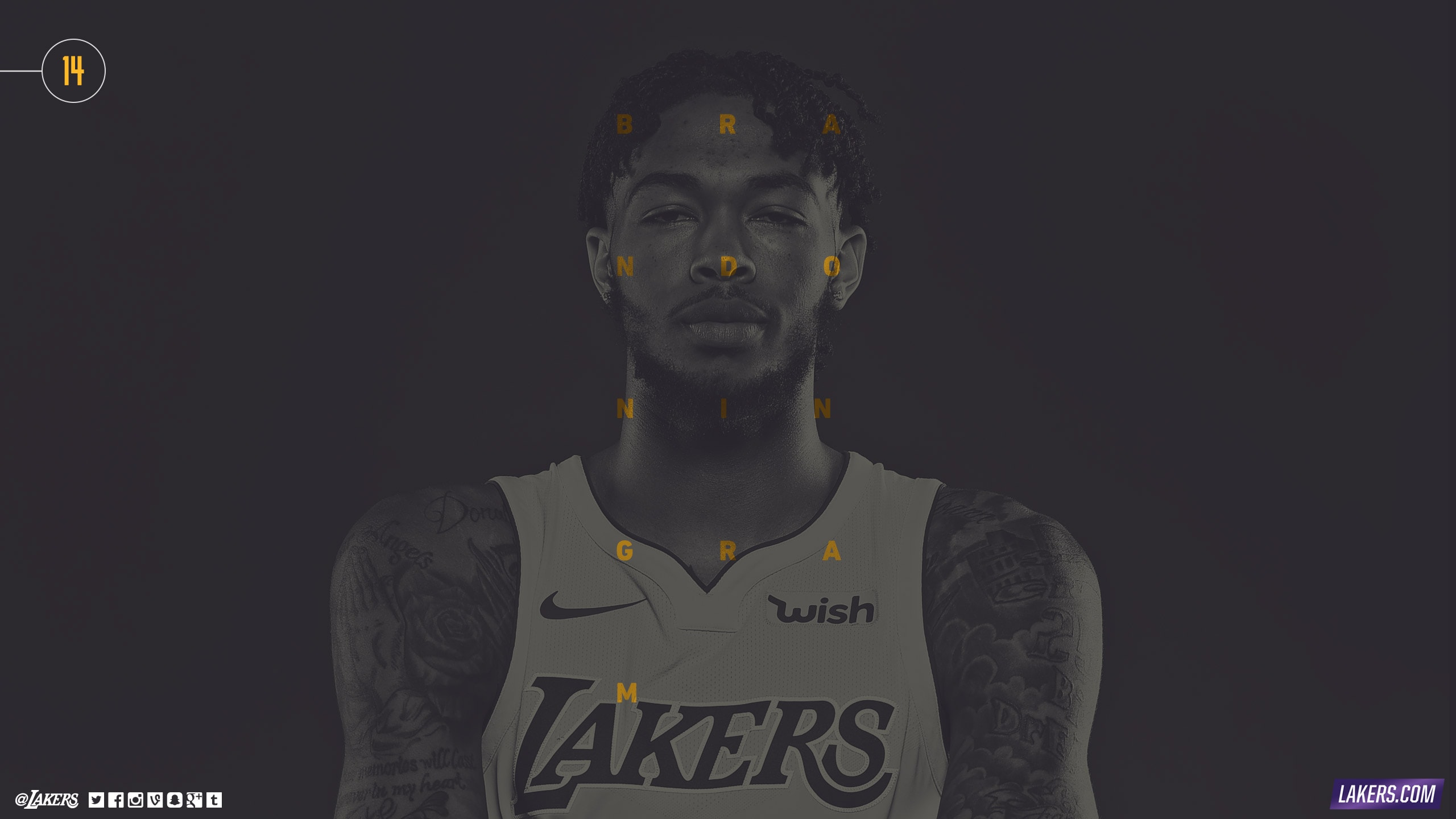 Brandon Ingram Player Wallpaper