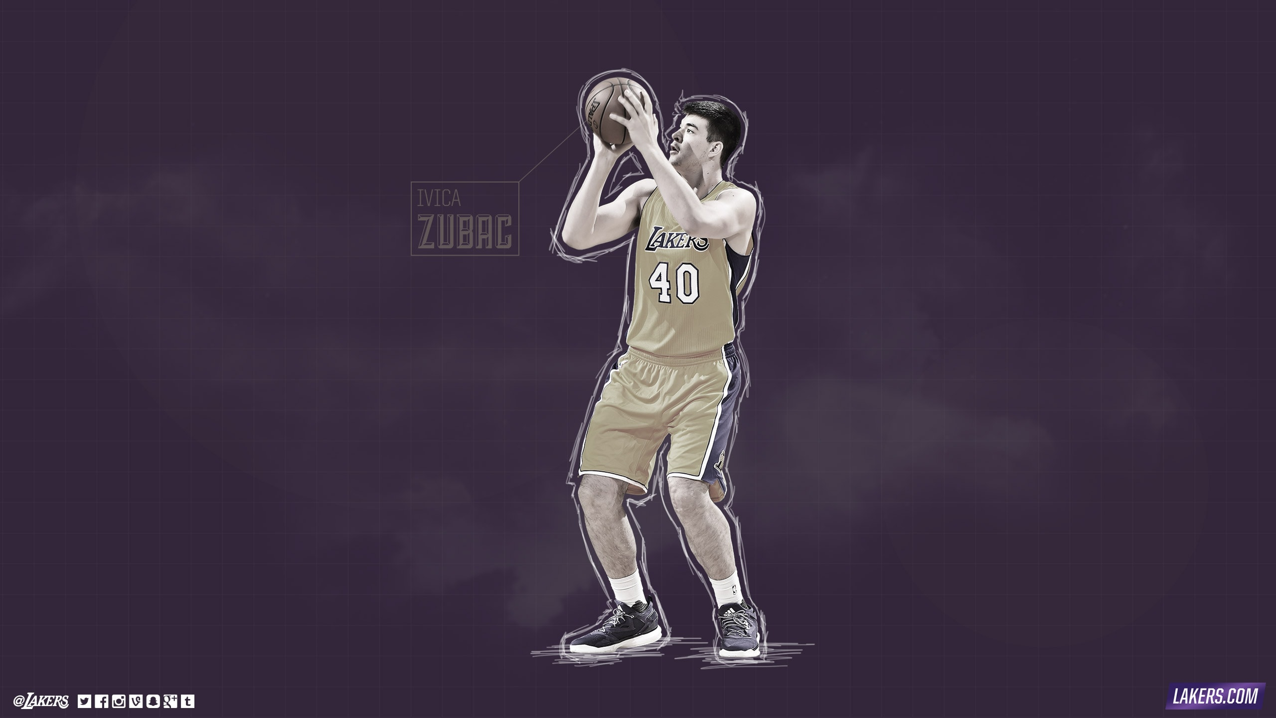 Ivica Zubac Player Wallpaper