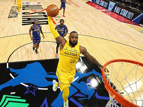 Photo Gallery: LeBron James at NBA All-Star 2021