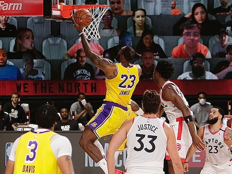 Postgame Notes: Lakers vs. Raptors (8/1/20)