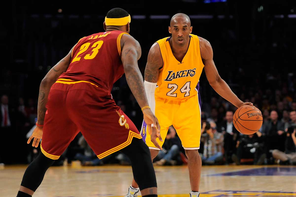 Kobe Bryant vs. the Cleveland Cavaliers