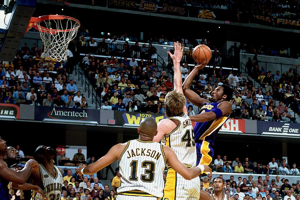 Kobe Bryant vs. the Indiana Pacers