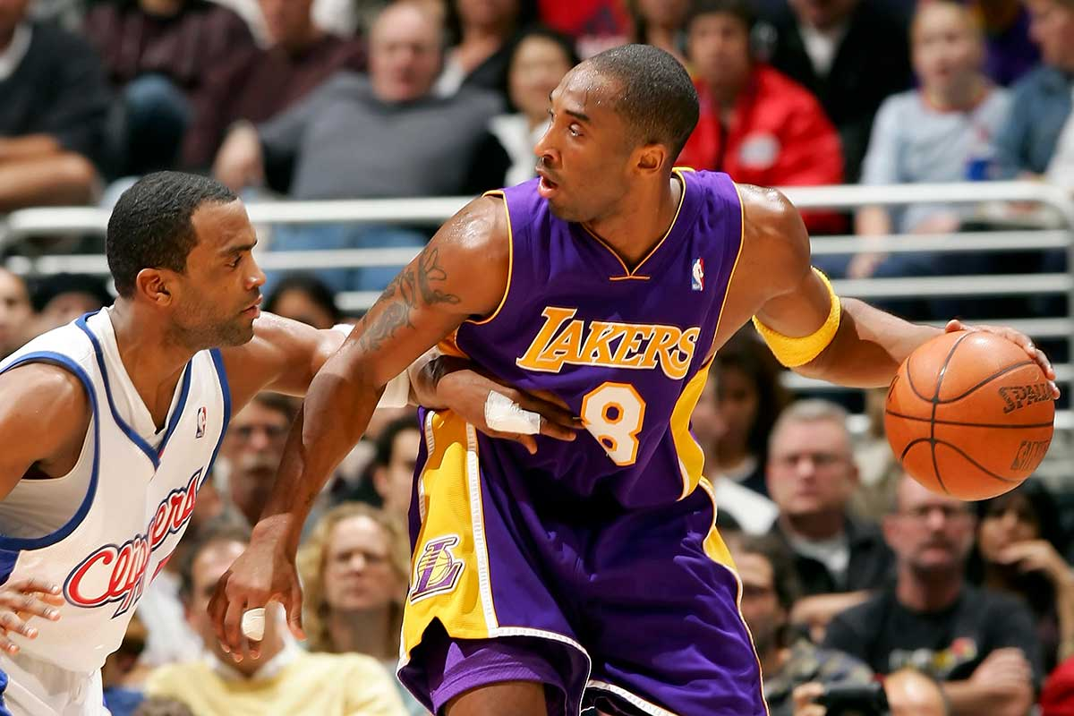 Kobe Bryant vs. the Los Angeles Clippers