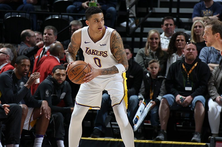 Kuzma waits to initiate offense against Utah