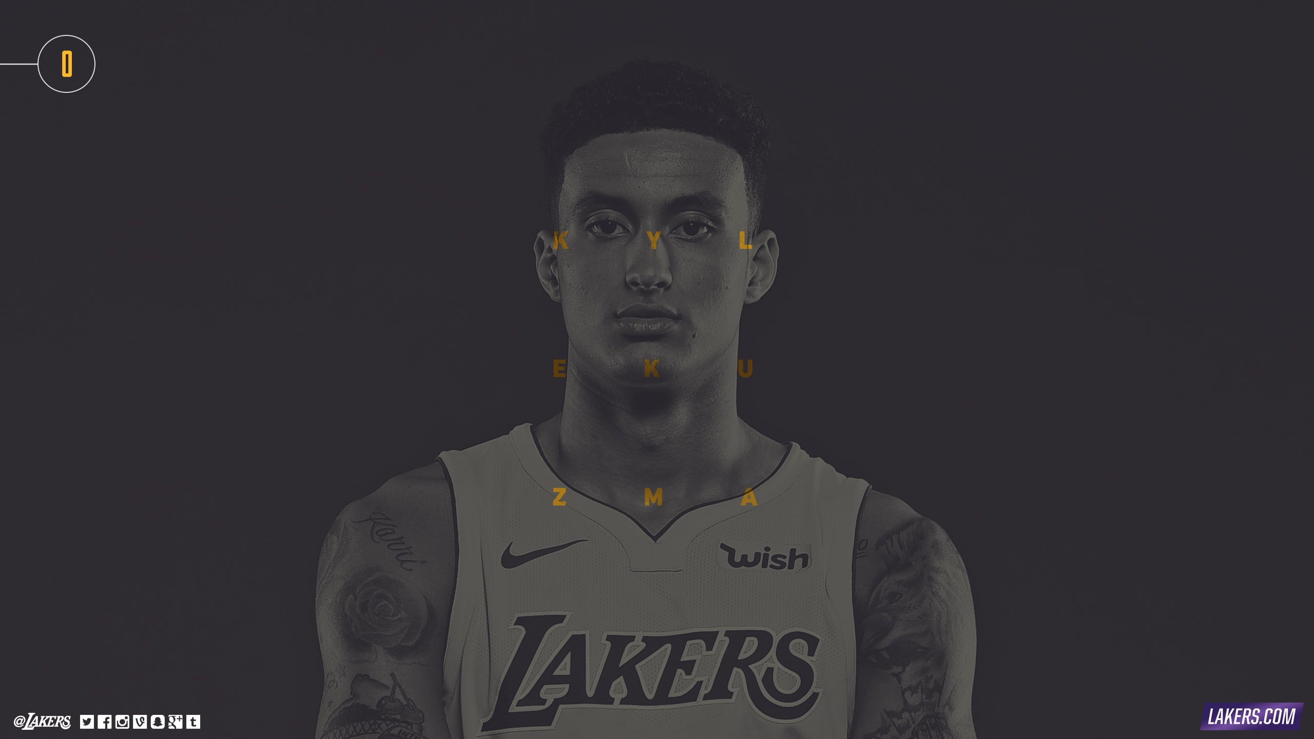 Kyle Kuzma Player Wallpaper