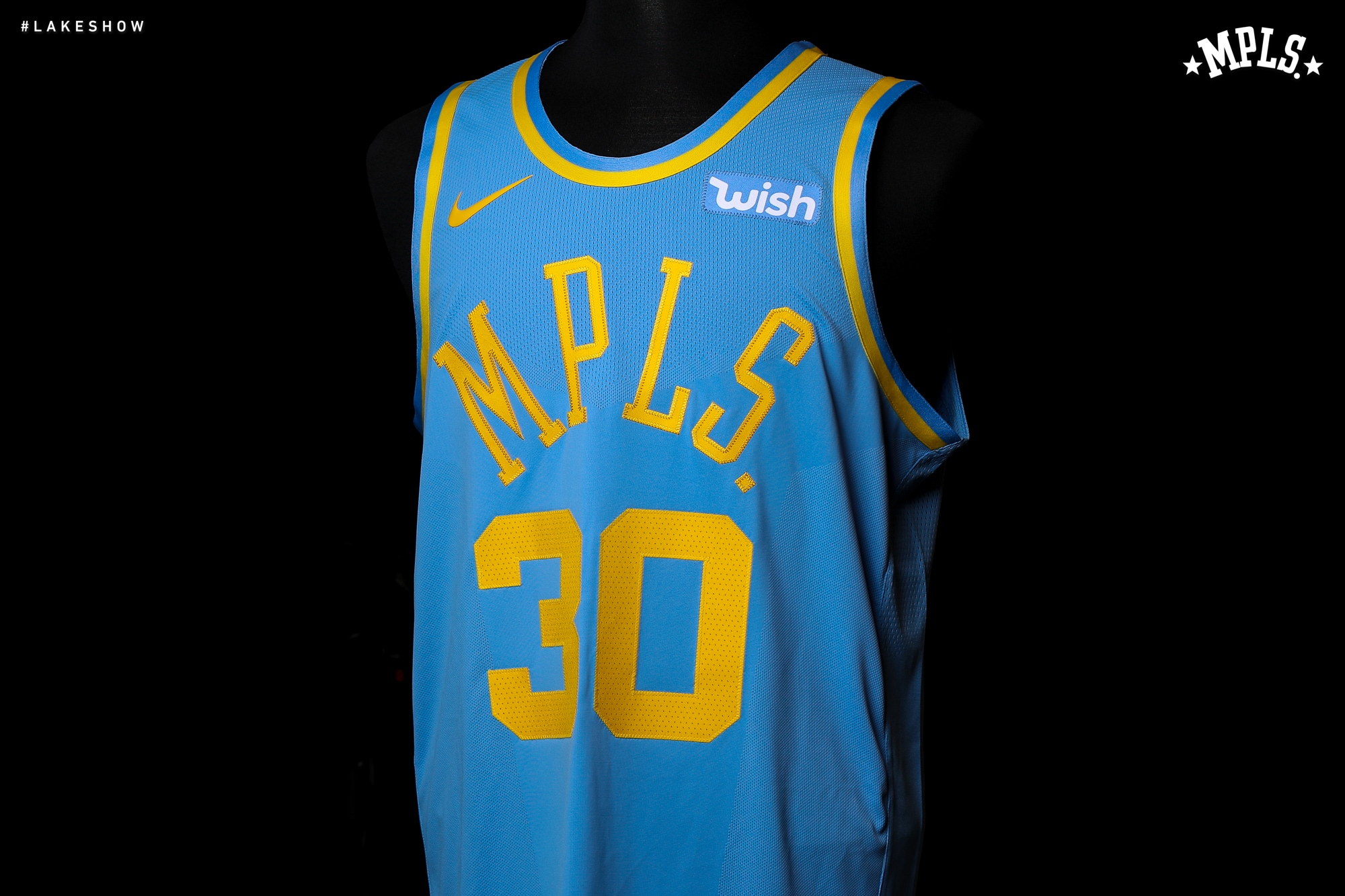 00c1f16c4e7c The Lakers will wear their classic MPLS uniforms five times throughout the  2017-18 season