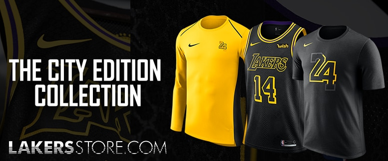 Lakers City Edition Jerseys