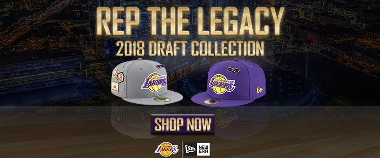 Lakers Draft Hats on Lakers Store