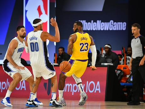 Photos: Lakers vs. Magic (7/25/20)