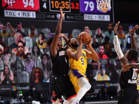 Photos: Lakers vs Rockets (8/6/2020)