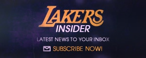 Sign-up for Lakers Insider and other Lakers emails