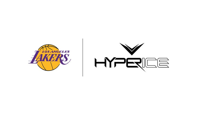 Lakers and Hyperice Partnership