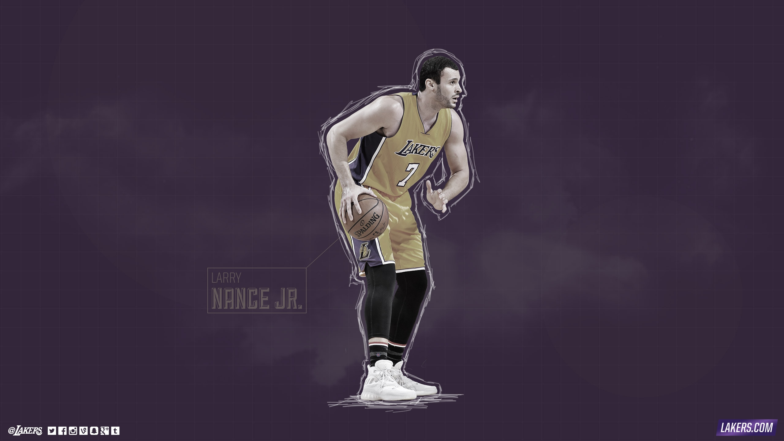Larry Nance Jr. Player Wallpaper