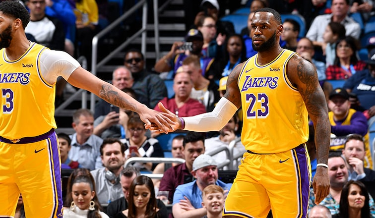 Los Angeles Lakers And Brooklyn Nets To Play In 13th Edition