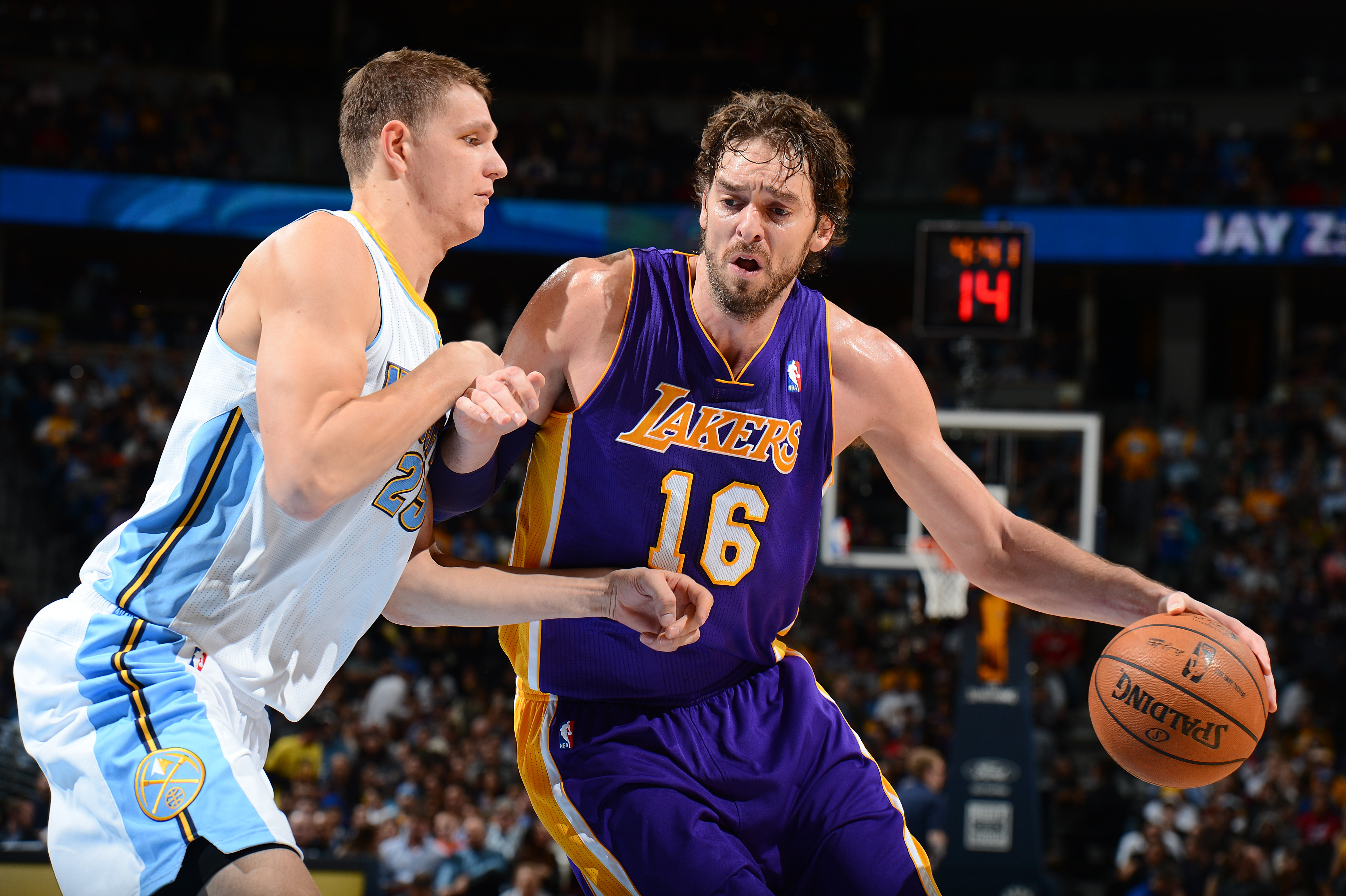 Photos  Lakers vs. Nuggets 11 13 13  730f07356